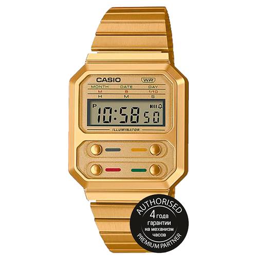 CASIO Наручные часы CASIO A100WEG-9AEF