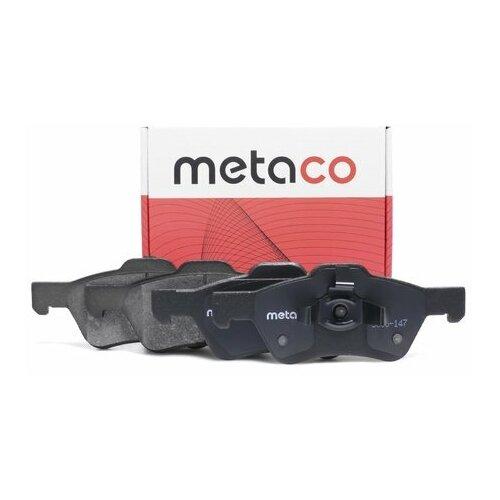 Колодки тормозные передние к-кт (Производитель: METACO 3000147)