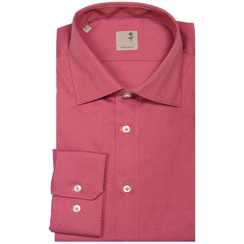 Рубашка Seidensticker размер 42 малиновый