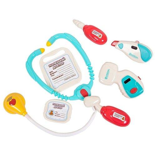 Набор врача ABtoys Маленький доктор, в чемоданчике, свет, звук (PT-01258) недорого