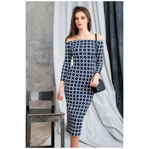 брюки ruxara ruxara mp002xw0f72l Платье RUXARA (7524, синий, размер: 48)