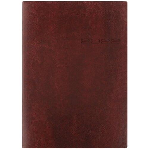 Ежедневник Letts LECASSA A5 искусст. кожа кремовые страницы мягкая обложка коричневый