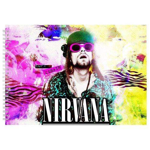 Альбом для рисования, скетчбук NEVERMIND Kurt