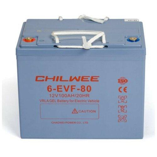 Тяговый гелевый аккумулятор CHILWEE 6-EVF-80