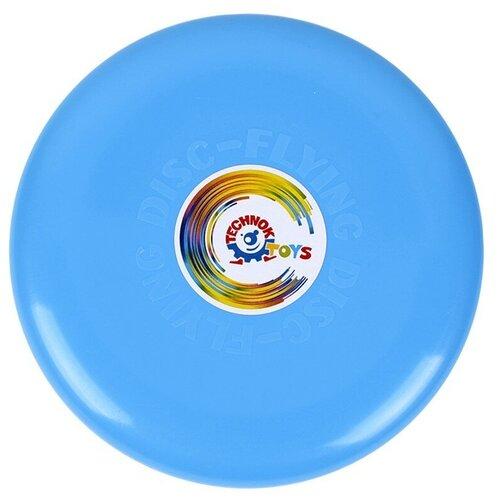 Купить Летающая тарелка фрисби детский технок / развивающие игры / бумеранг детский / игры на улице / летающий диск, ТехноК, Фрисби