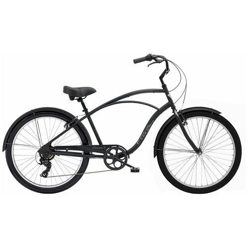 Велосипед городской Electra Cruiser Lux 7D Matte Black(В собранном виде)