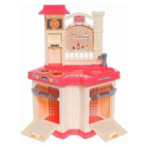 Купить Угловая детская игровая кухня (холодный пар, свет, звук), 848В, Bei Di Yuan Toys, Детские кухни и бытовая техника