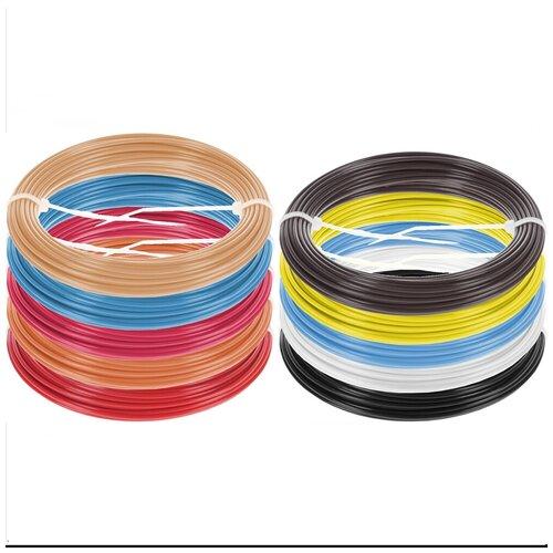 Набор ABS пластика для 3D ручки 10 цветов по 10 метров Plastiq