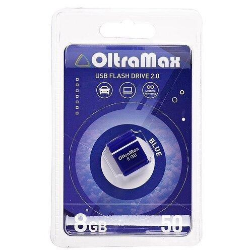 Фото - Флеш-накопитель USB 8GB OltraMax 50 синий флеш накопитель hoco ud6 8gb