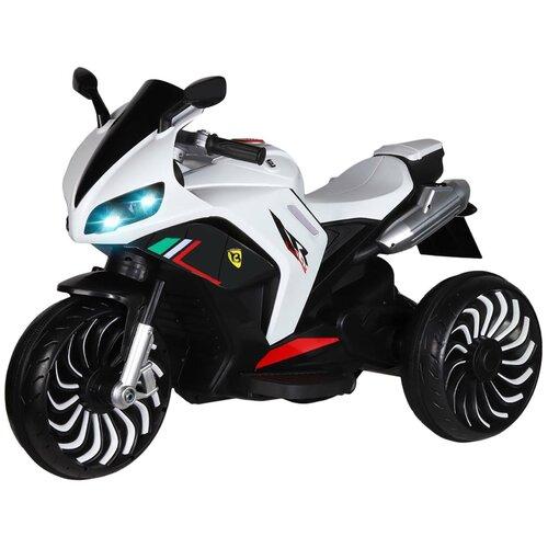 Купить Электромобиль с функцией водяного пара TM CITY-RIDE, машина детская на аккумуляторе, машинка для малышей, для детей, Мотоцикл на аккумуляторе трехколесный, электромотоцикл, 12V7AH, 2*540W, MP3, USB, размер 130х60х83см, цвет - белый, Электромобили