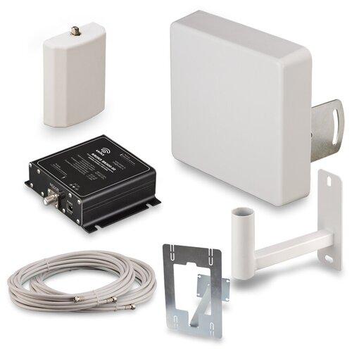 Комплект усиления сотовой связи (репитер).Площадь покрытия до 100 м2. GSM900 для дачи - KRD-900 Lite. Усиливает сигнал сотовых операторов в стандартах связи GSM900 и 3G (UMTS900)