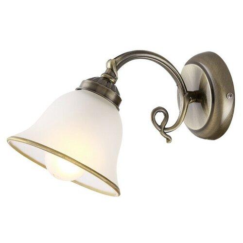 бра globo lighting cathy 5453 1 GLOBO LIGHTING Бра ODIN 1x60Вт E27 античная бронза 30x16x18см