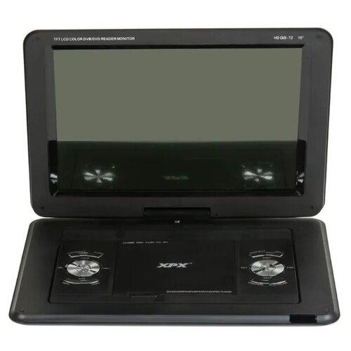 Складной портативный автомобильный DVD плеер с цифровым телевизором XPX-EA1468D DVB-T2 15