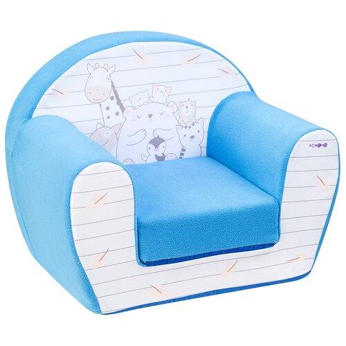 Фото - Раскладное детское кресло Paremo бескаркасное, мягкое, Дрими, цвет Лазурь (PCR320-38) раскладное детское кресло paremo бескаркасное мягкое дрими крошка перси pcr320 50