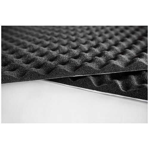 Шумопоглощающий материал Шумофф Герметон А15 | 1 лист - 75 x 100см | Водостойкий клеевой слой