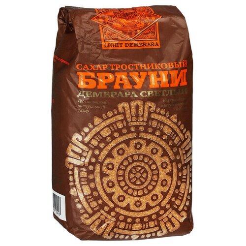 Сахар Брауни Light Demerara коричневый светлый тростниковый 900г 2 шт.