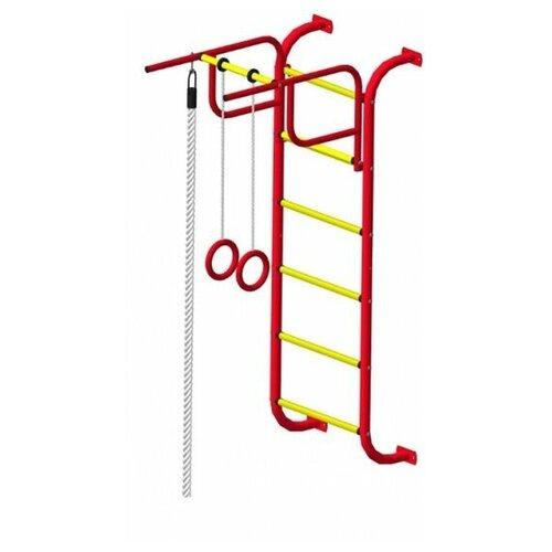 Спортивный комплекс Пионер 7М красно/жёлтый