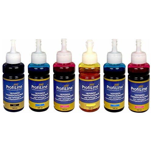 Фото - Чернила для Canon / HP / Epson / Lexmark, 6 цветов PG 440 / 440XL / CL 441 (черный, пурпурный, голубой, желтый, светло-голубой, светло-пурпурный), для струйных принтеров, совместимые картридж струйный hp 774 p2v98a светло пурпурный светло голубой