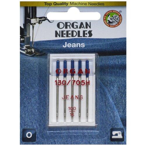 ORGAN иглы джинсовые 5/100 Blister