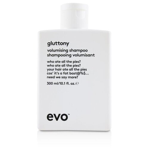 Купить EVO - Gluttony Шампунь для Объема Волос 300ml/10.1oz