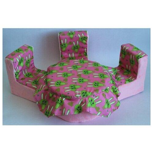 Мягкая мебель для кукол стол, 3 стула мягкая мебель
