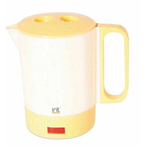 Фото - Чайник irit IR-1603, белый/желтый чайник irit ir 1603 белый желтый