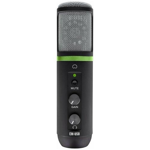 Микрофон Mackie EM-USB, черный
