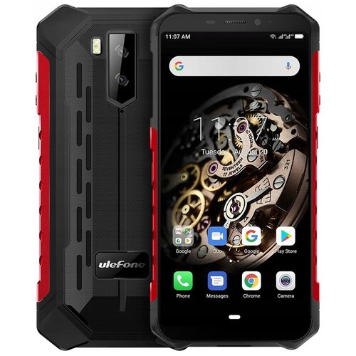 Смартфон Ulefone Armor X5 Pro красный