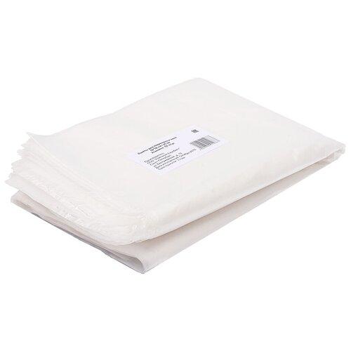 white line фартук полиэтиленовый прозрачный 120х80 см 50 шт Пакеты для педикюрной ванны WHITE LINE 50 х 50 см, 50 шт. бесцветный