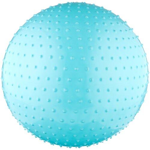 Фитбол ATEMI AGB-02-65, 65 см голубой фитбол indigo in001 65 см