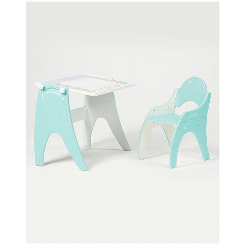 Набор детской мебели Тех Кидс трансформер Части света Бирюзовый