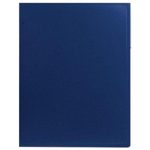 Фото - Attache Папка на 10 файлов А4, пластик 500 мкм синий канцелярия snopake папка с кольцами для файлов а4 32х26 см