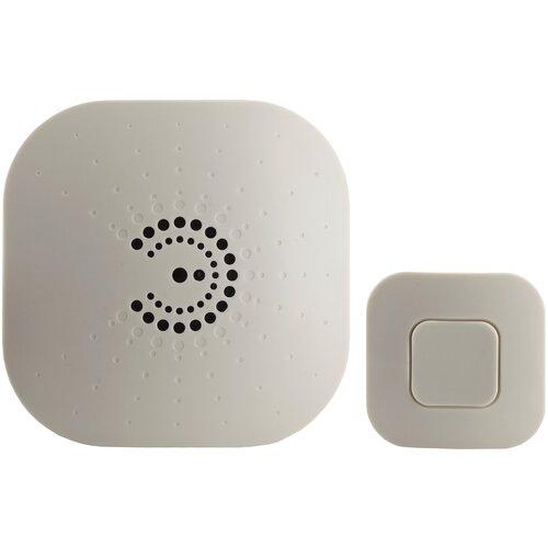 Фото - Звонок с кнопкой ЭРА BIONIC Ivory электронный беспроводной (количество мелодий: 6) звонок эра bionic шампань беспроводной б0018091