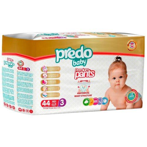 Predo Baby трусики 3 (4-9 кг) 44 шт.