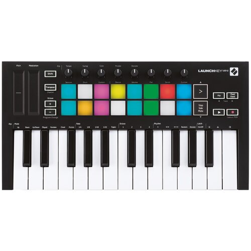 MIDI-клавиатура Novation Launchkey Mini MK3 черный