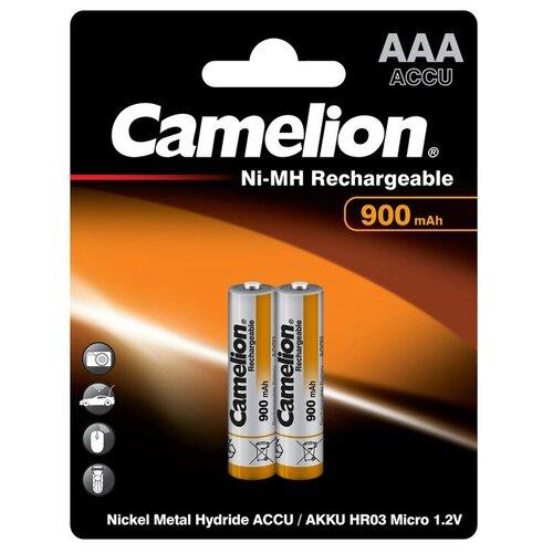 Фото - Аккумулятор Ni-Mh 900 мА·ч Camelion NH-AAA900, 2 шт. аккумулятор ni mh 1000 ма·ч camelion nh aaa1100 2 шт