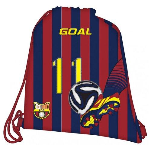 Target Сумка для детской сменной обуви цвета FC Barcelona 17243, синий/красный target ранец fc barcelona барселона 17325 синий красный