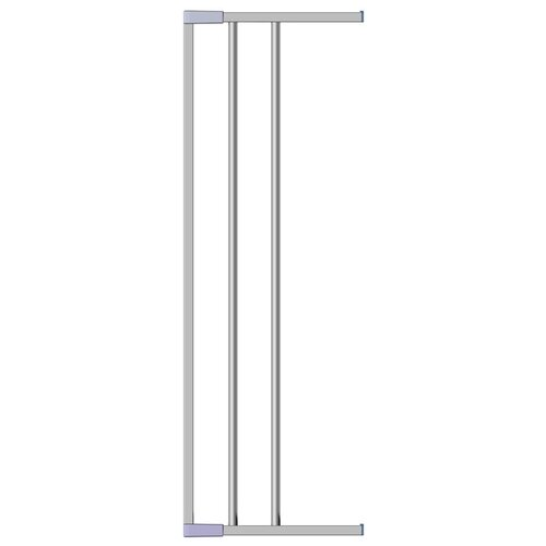 Clippasafe Дополнительная секция CL139/2S серебристый