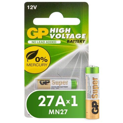 Фото - Батарейка GP High Voltage 27A, 1 шт. элемент питания gp high voltage 476a 6v 1 шт