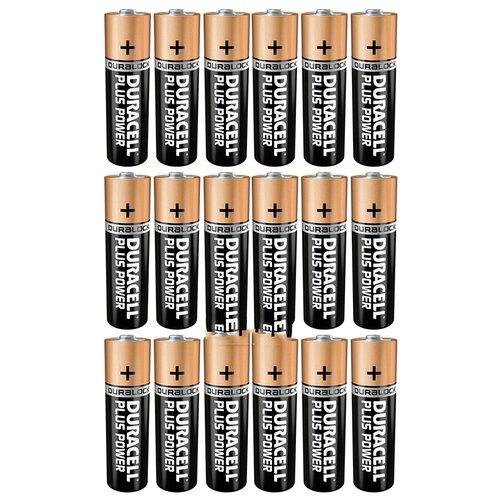 Фото - Батарейки AAA - Duracell LR03 BL18 (18 штук) батарейки duracell activeair nugget box za675 da675 6bl