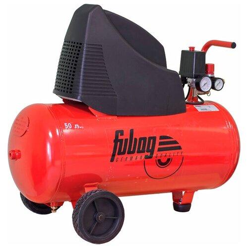 Фото - Компрессор безмасляный Fubag OL 231/50 CM2, 50 л, 1.5 кВт компрессор безмасляный fubag paint master kit 6 л 1 1 квт