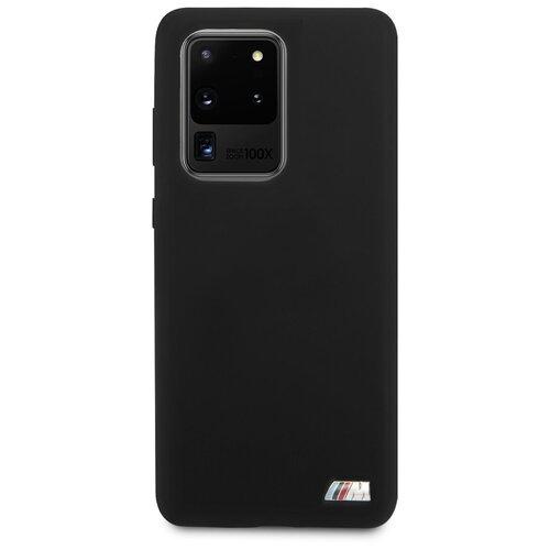 Чехол BMW для Galaxy S20 Ultra M-Collection Liquid silicone Hard Black sephora collection ultra black