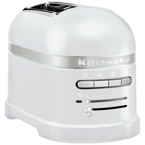 Фото - Тостер KitchenAid 5KMT2204EFP, морозный жемчуг тостер kitchenaid 5kmt2204efp морозный жемчуг