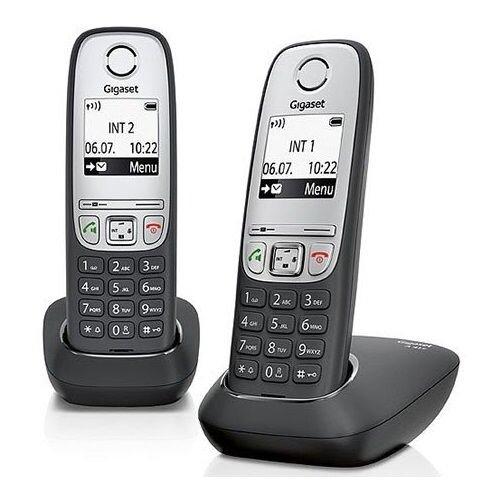 Фото - Радиотелефон Gigaset A415 Duo радиотелефон gigaset a415 белый