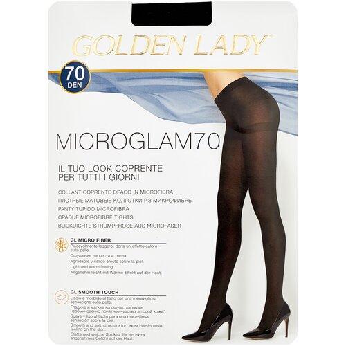 Колготки Golden Lady Microglam, 70 den, размер 3-M, nero (черный) колготки golden lady microglam 70 den размер 3 m nero черный