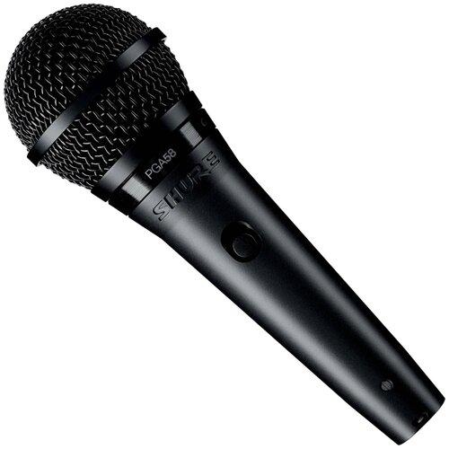Микрофон Shure PGA58-QTR-E, черный