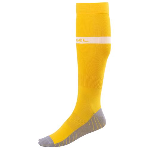 Гетры Jogel размер 35-37, желтый/белый