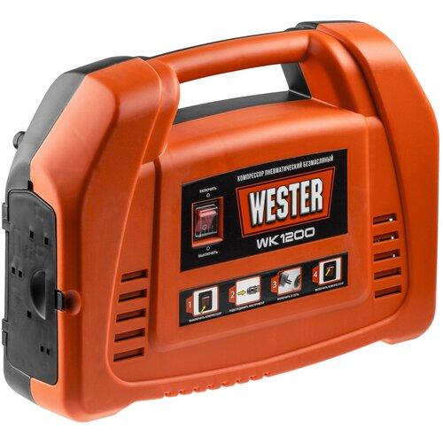 Компрессор безмасляный Wester WK1200, 1.1 кВт