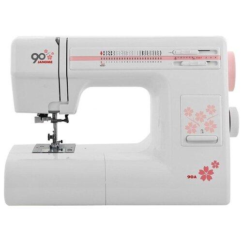 Швейная машина Janome 90A, белый швейная машина janome 90a белый