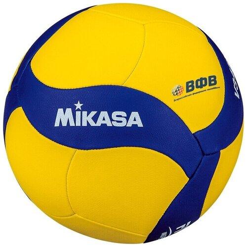 Волейбольный мяч Mikasa V345W желтый/синий